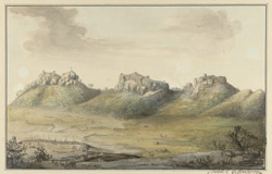 E. view of Bellamkonda Fort. September 1788
